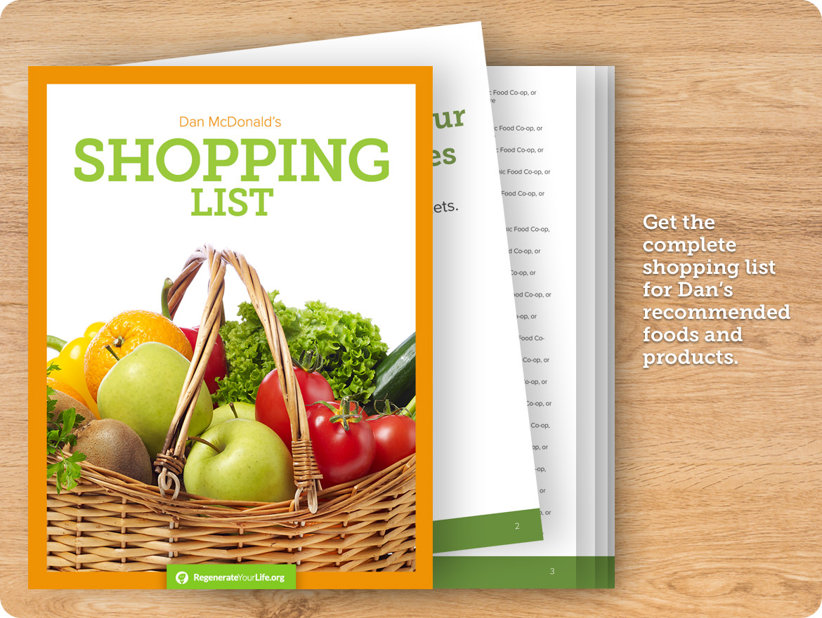 The Living Foods Shopping List
